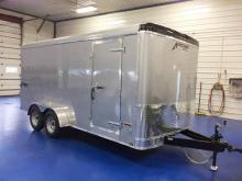 Homesteader Challenger 7x16 Enclosed Trailer Ramp Door